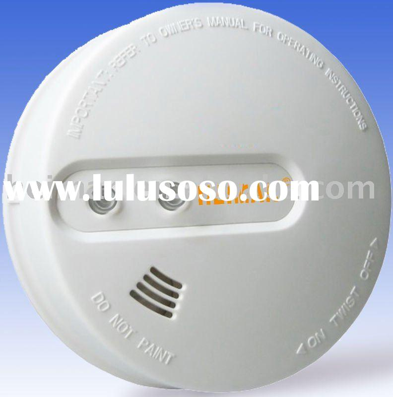 HOT ! Wireless Interconnect Fire Alarm,Featured Test and Hush Button