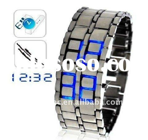 HOT watch Samurai - fashion 2010 Japan Iron led watch