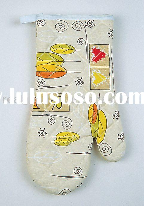 Heat Insulation Glove, Kitchen Glove, Oven Mitt, Kitchen Towel, Model: 31182
