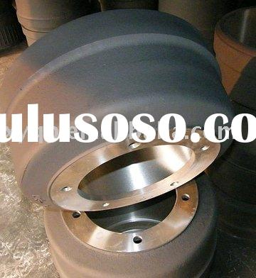 Heavy duty truck /trailer truck brake drum and wheel hub