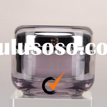 High Quality Round Acrylic Jars for Cosmetic Packaging