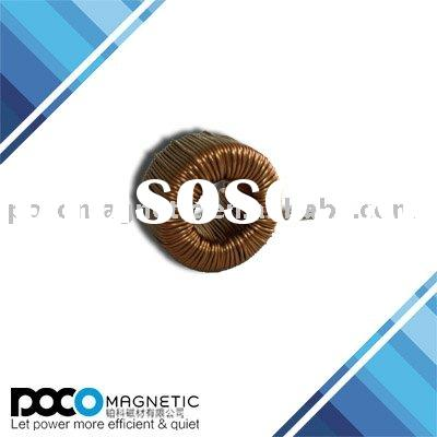 High power low cost powder core inductors for main switching power supply