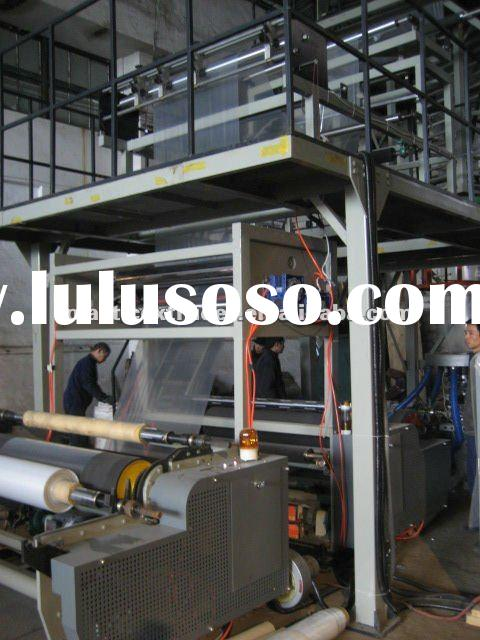 High-speed HDPE/LDPE Film Blowing Machine with Auto Roll Changer and IBC System