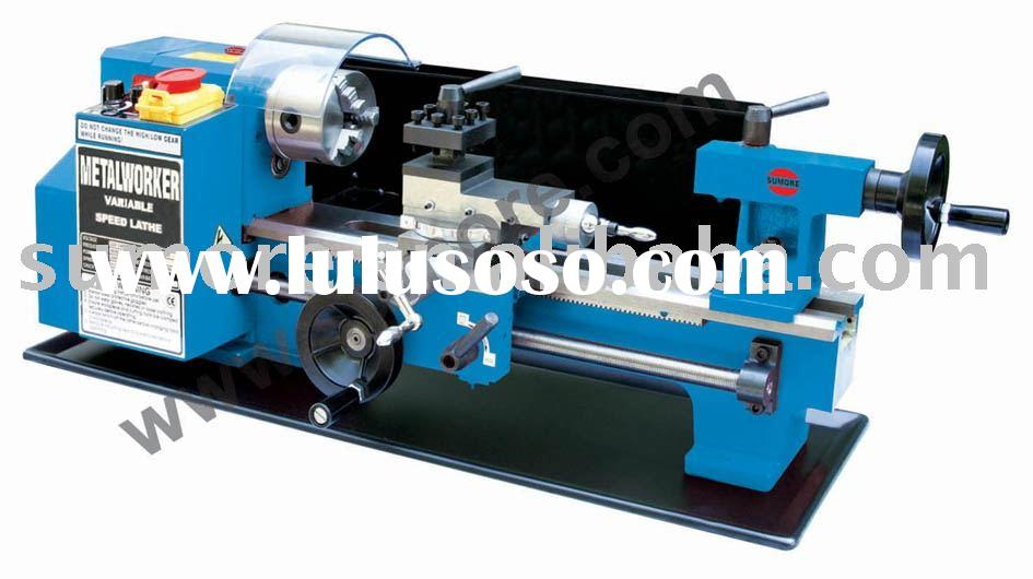 Hobby Mini Lathe Machine SP2102-I Model:SP2102-I Specifications: 1) Swing ...
