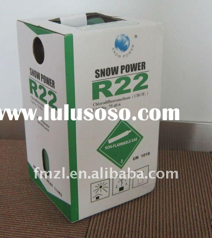 Home air conditioning R22 Refrigerant gas 99.9% purity