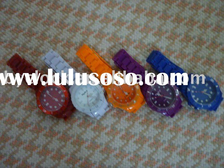 Hot-2012 cheap plastic watch for sale