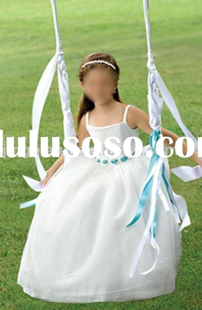 Hot Sale Flower Girl's Dress Children Dress Girls' Gown HT4030