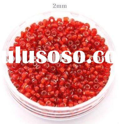 Hot Selling glass beads for decorating -6/0-15/0