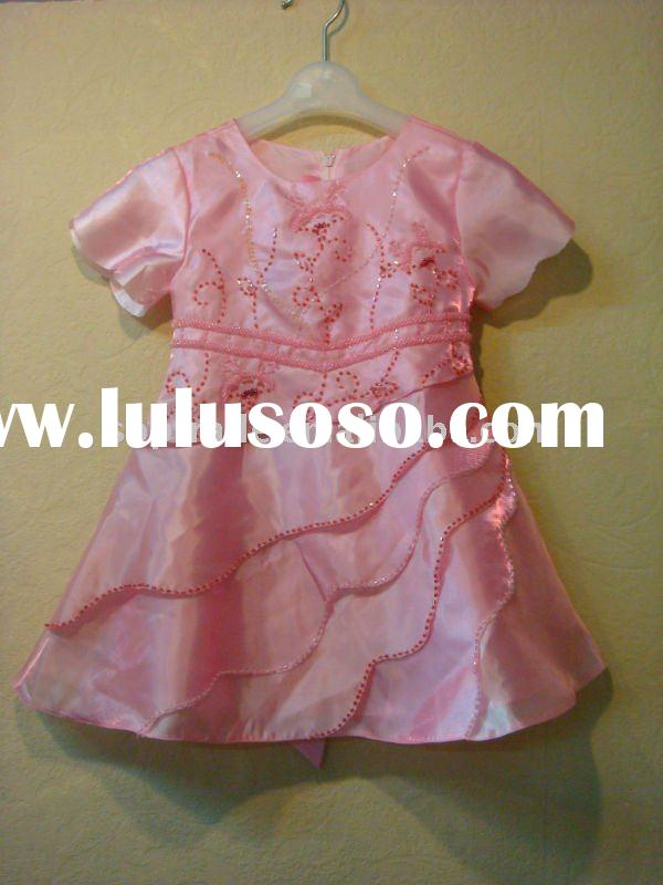 Hot sale! 2012 baby girls flower girl dresses