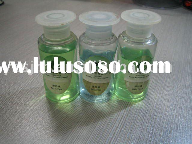 Hotel body lotion,bath gel,shampoo(bottle or tube pack)