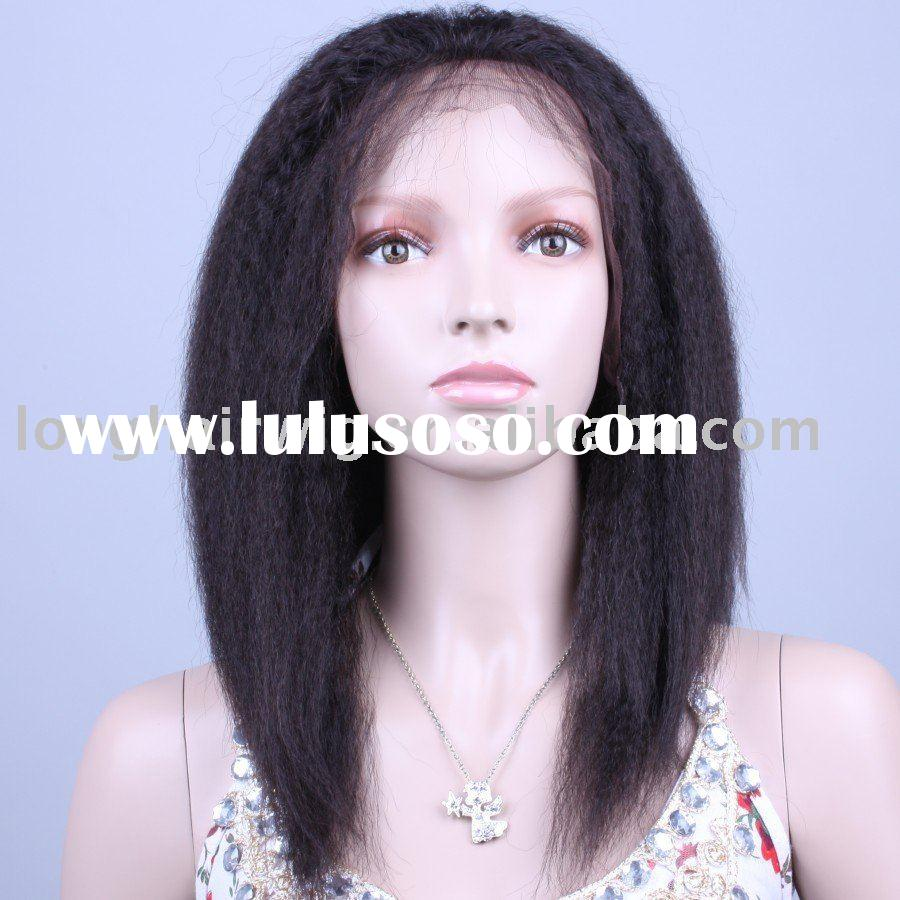 Indian remy yaki full lace wig