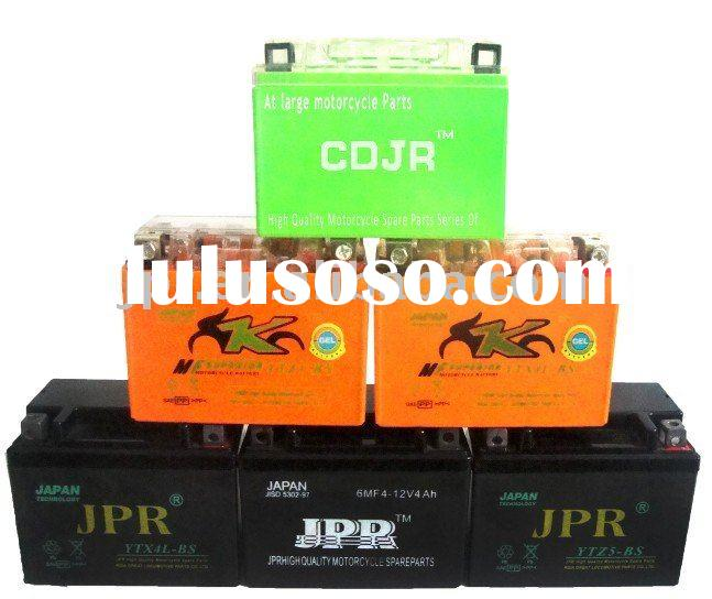 JPR High quality Dry charged Motorcycle battery for (HONDA,YAMAHA,SUZUKI...)