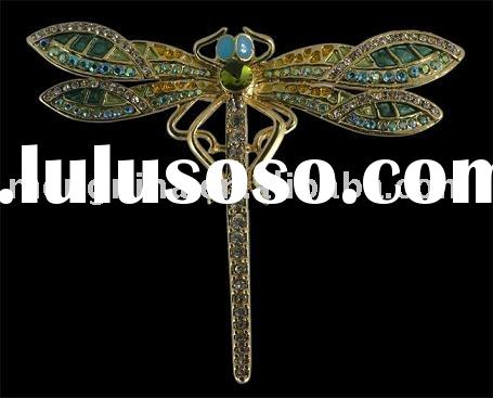 Jewelry,Jewellery,Fashion Jewelry,Imitation Jewelry,Insect Jewelry, Big Dragonfly Pin Brooch B00060-