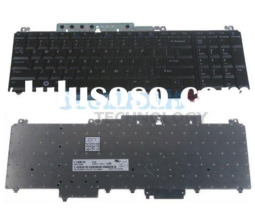 Laptop keyboard for Dell	Vostro 1700, Inspiron 1720, 1721; XPS: M1720, M1721, M1730