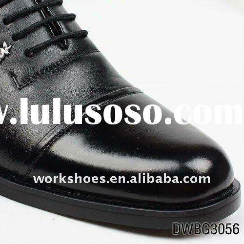 Latest mens dress leather shoes with uniform types