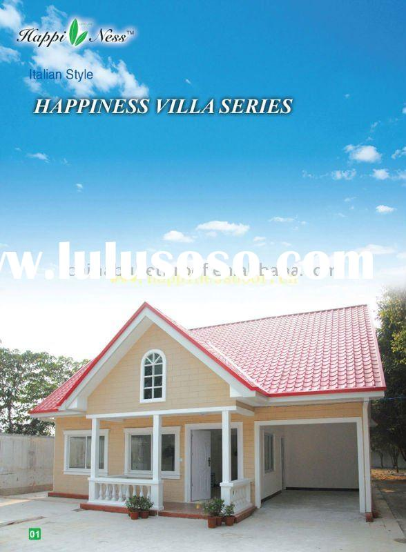 Light Steel Frame Villa Prefabricated House 01