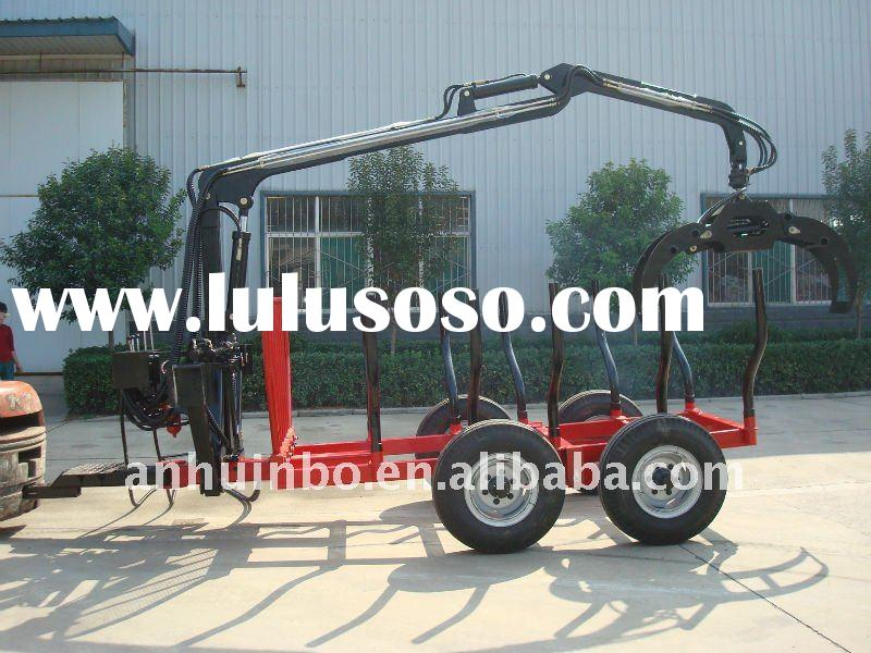 Log Trailer with Crane for ATV