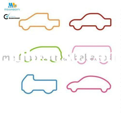 Lovely Car Rubber Band