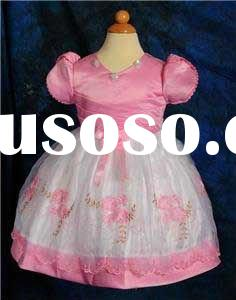 Lovely lace flower girl dress for infants