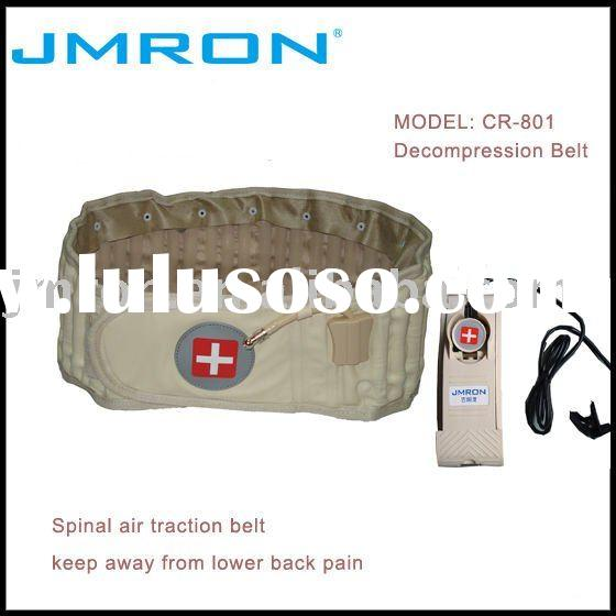 Lower back pain relieve air traction decompression belt
