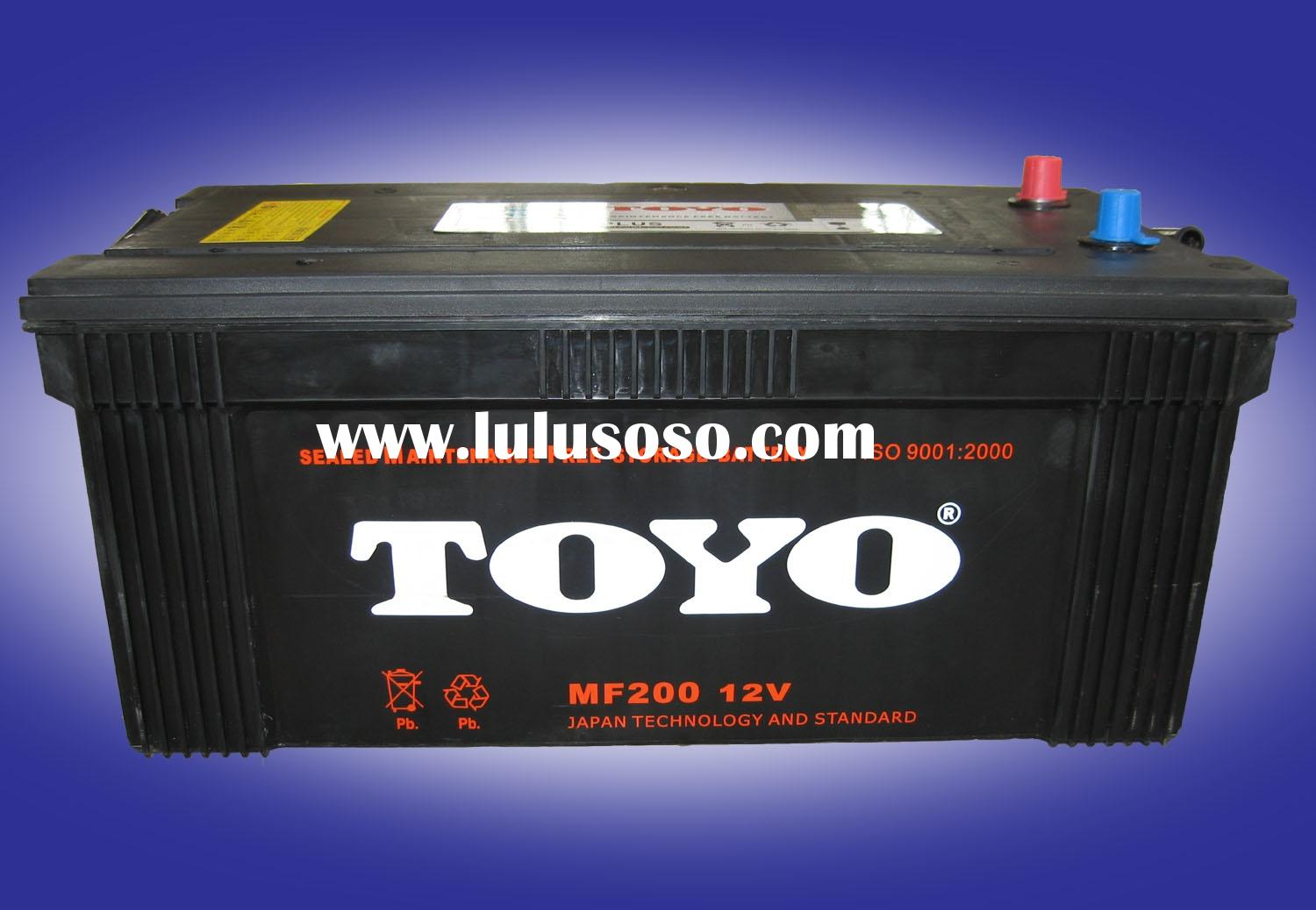 MF 200 Maintenance free Auto battery; MF car battery