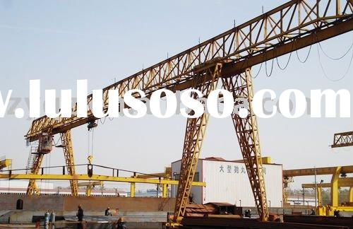 MH Model Electric hoist Gantry Crane (truss type)