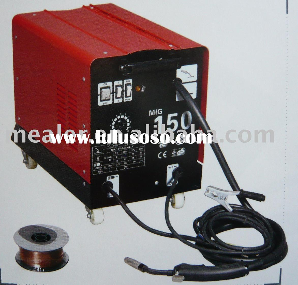 MIG-150 Transformer CO2/MAG portable light DIY welding equipment
