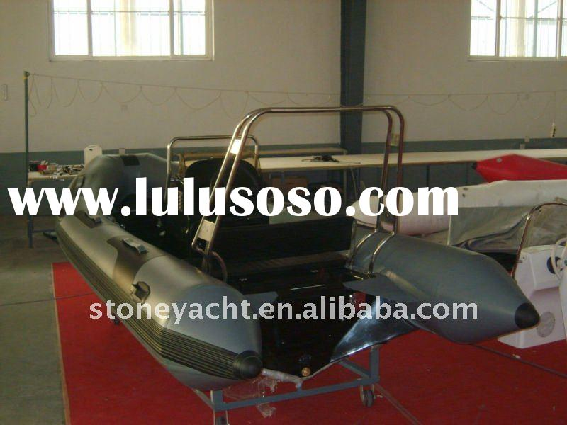 Made in china 30hp motor rib470-6people CE RIB Inflatable Boat