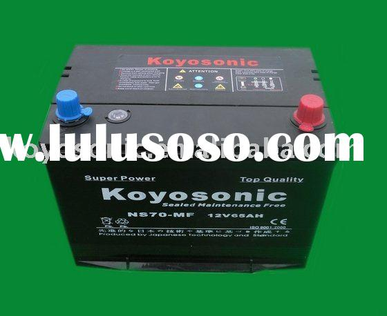 Maintenance Free Car Battery-12v65AH-NS70MF