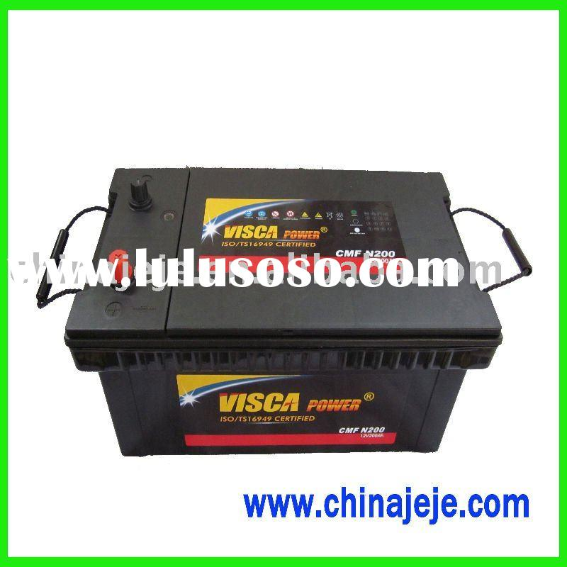 Maintenance Free Car Battery N200 12V200AH
