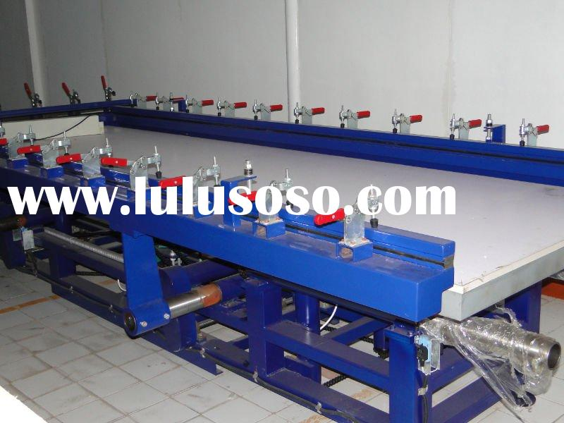 Mechanical Stretching Machine & Screen Printing Equipment