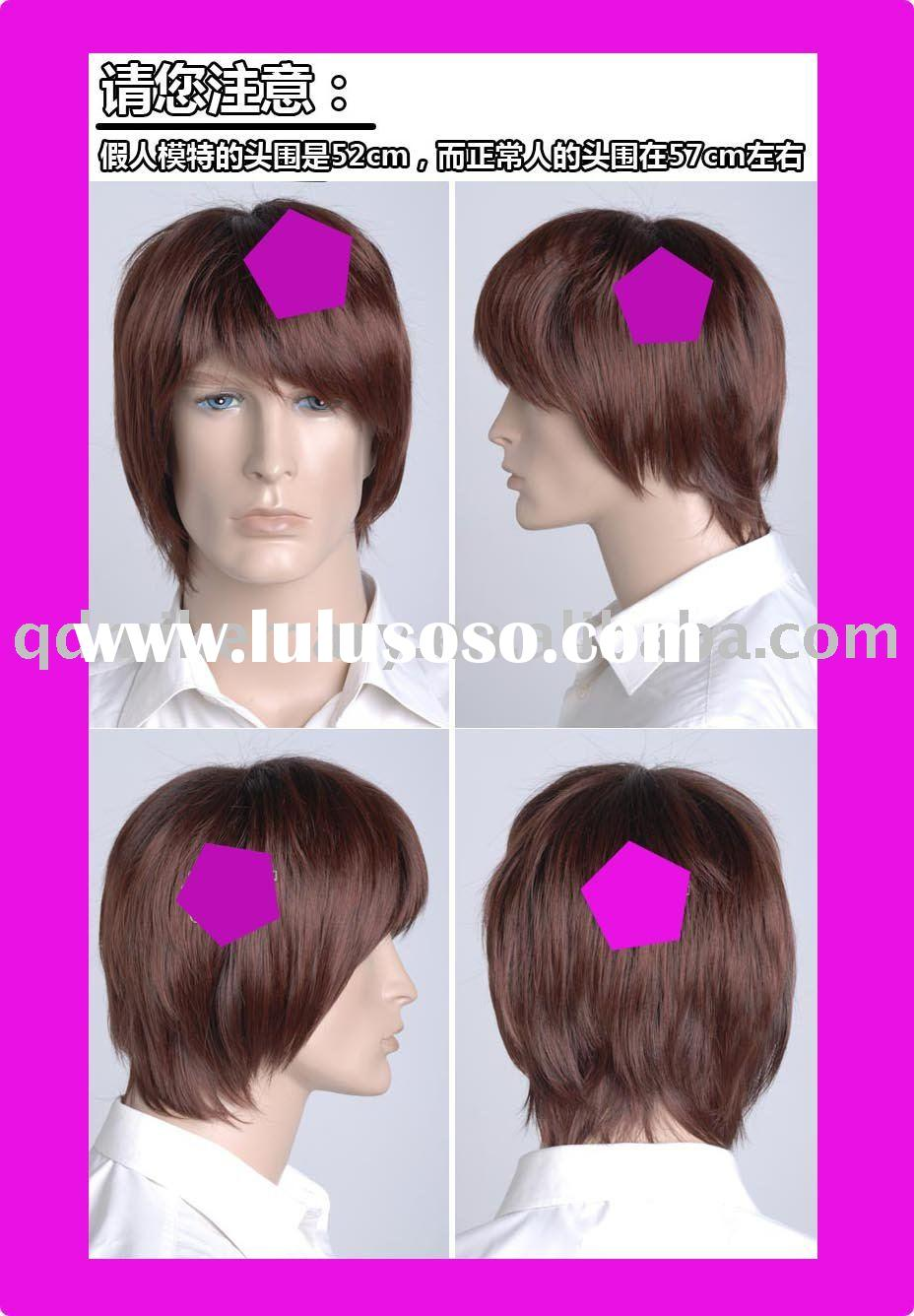 men 39 s long hair wigs, men 39 s long hair wigs Manufacturers in ...
