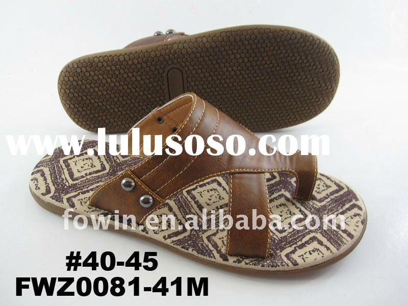 Men's fashion sandals slippers 2012