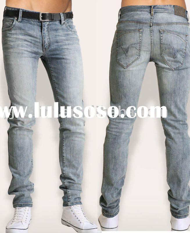Men's fashion slim jeans