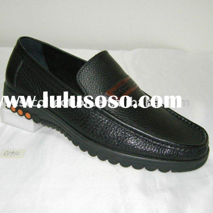Men's smart casual leather shoe