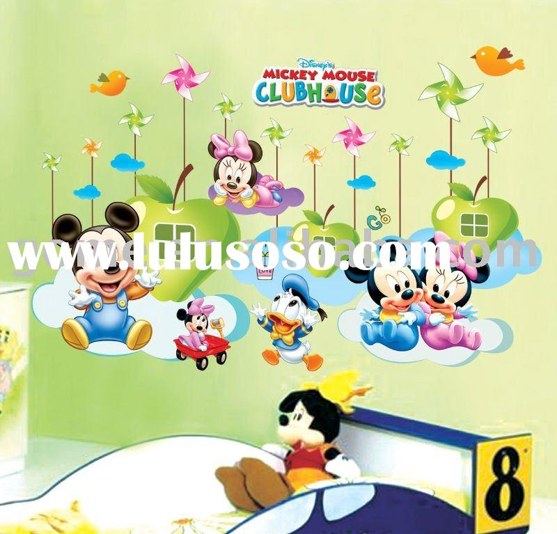 Mickey Mouse,60*90,wall Sticker,Environmental Protection Sticker,PVC Sticker Part 35