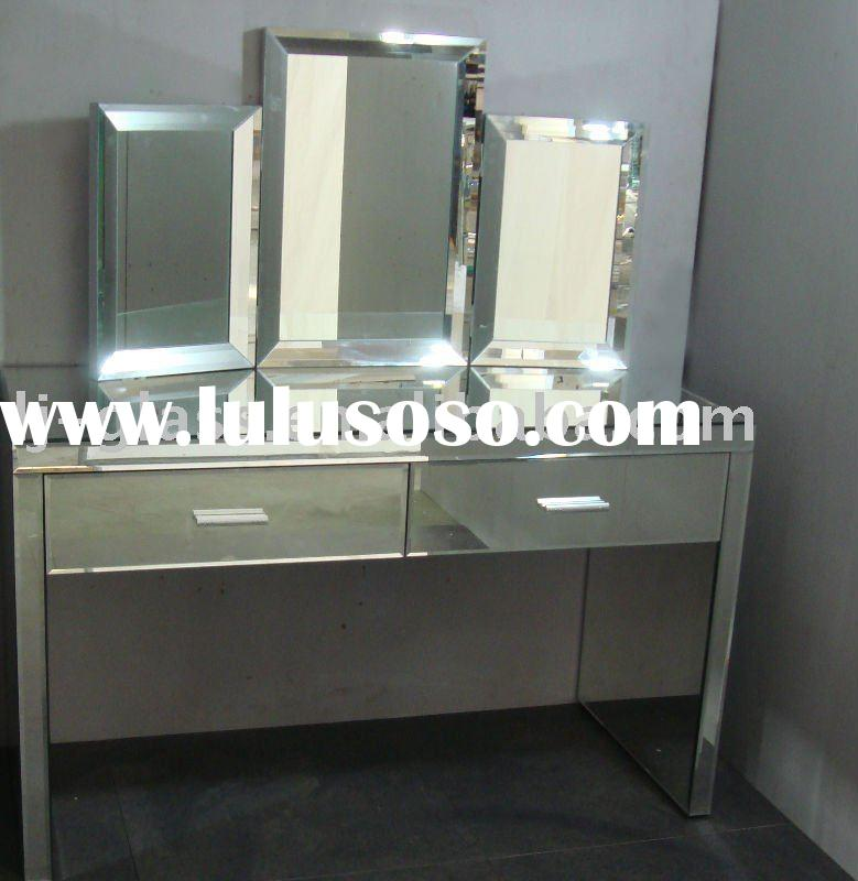 Mirrored Dressing Table ,Mirror Vanity Sets,Venetian Mirror Dressing Table  Lydia