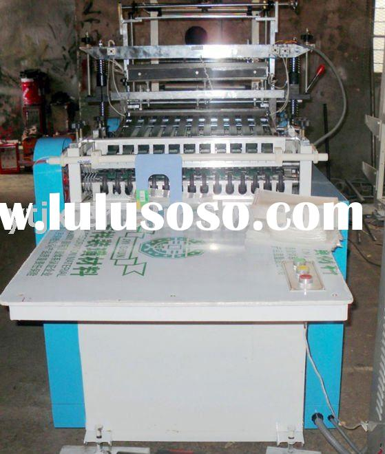 Model-RDL automatic plastic bag Making Machinery with servo motor