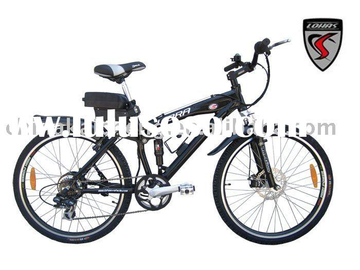 Mountain electric bicycle/Aluminum alloy frame/CE/Li-ion battery