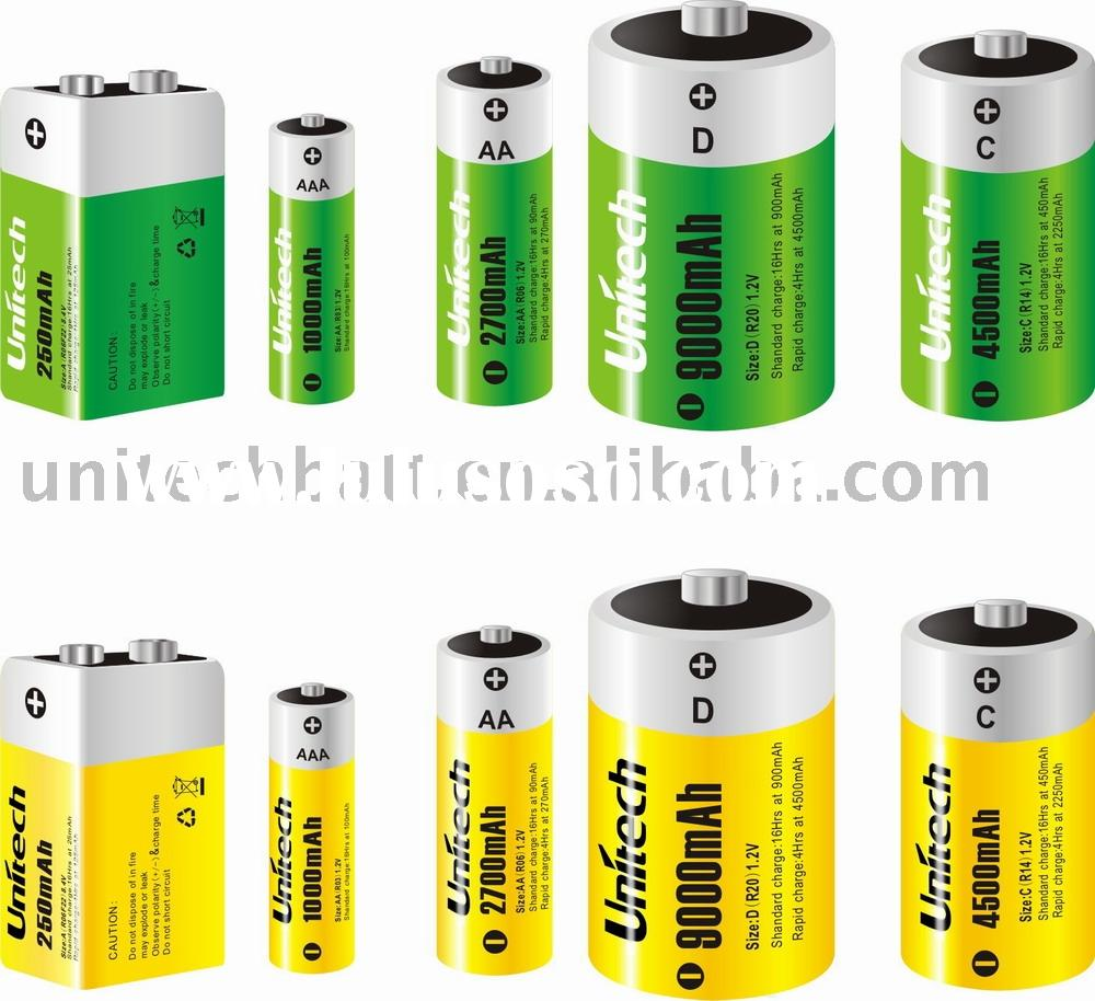 NI-MH NI-CD Rechargeable battery/consumer battery/digital battery