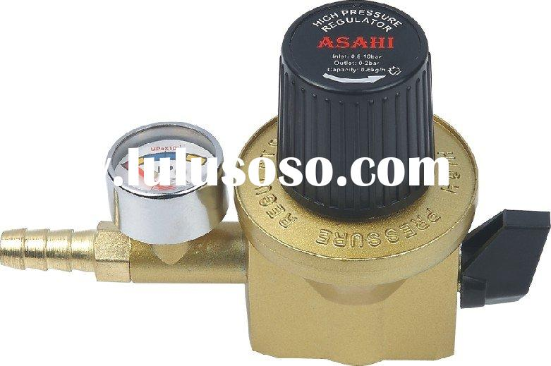 Natural gas pressure regulator (HI604B)