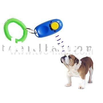 New Design Dog Cat Pet i-Click Training Clicker Aid Guide