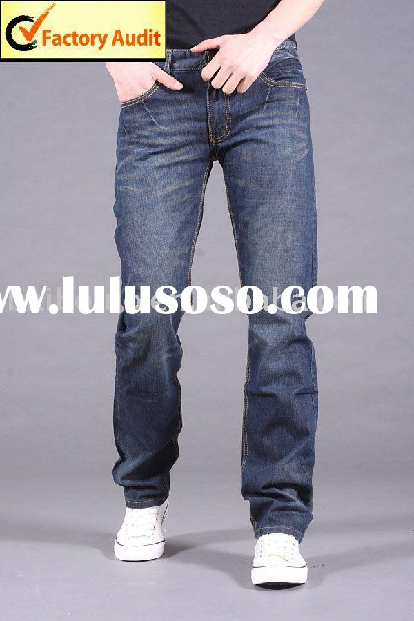 New Men's Fashion Slim Jeans (BBL-N3) Garment Factory