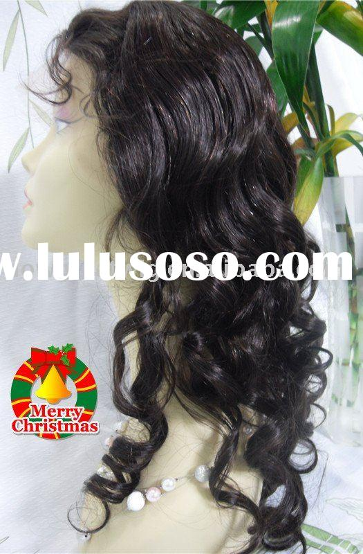 New arrival body weave Brazilian/Indian hair full lace wig