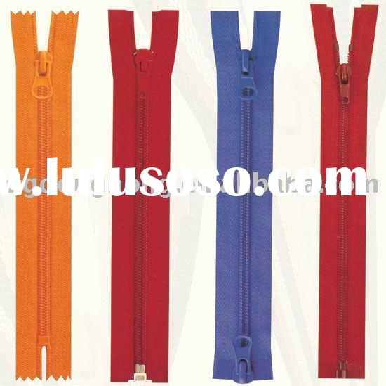 Nylon Zipper for bags and fashions