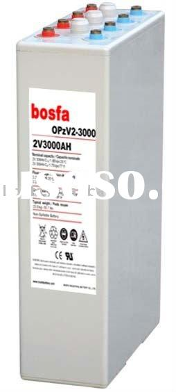 OPzV2-3000 2v 3000ah gel battery 2v3000ah sealed lead acid battery colloid battery