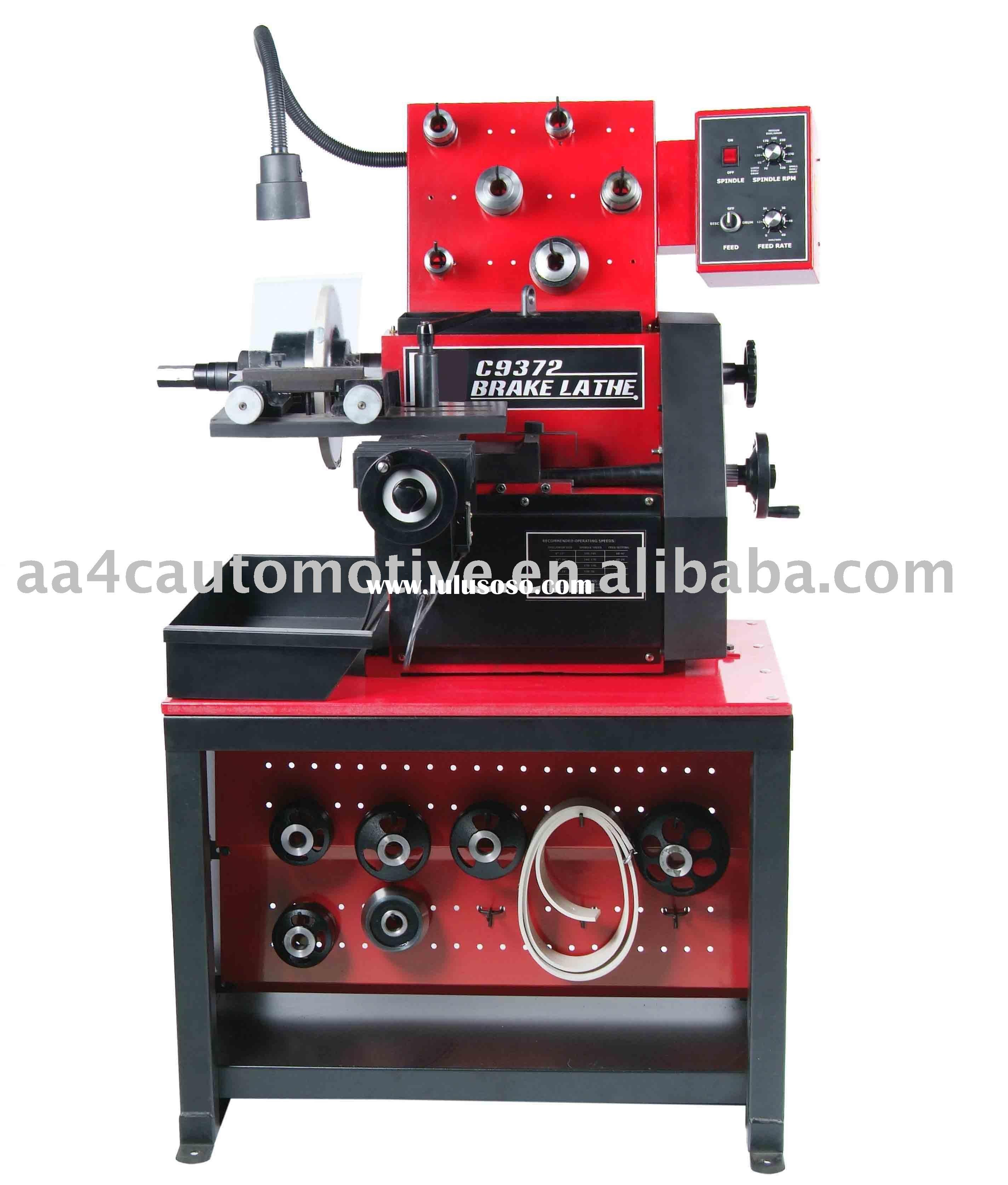 On car brake lathe machine