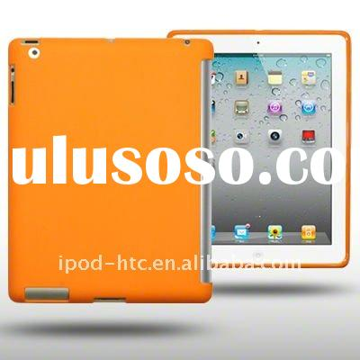 Orange Ultra-Thin polyurethane Smart Cover Case for ipad 2