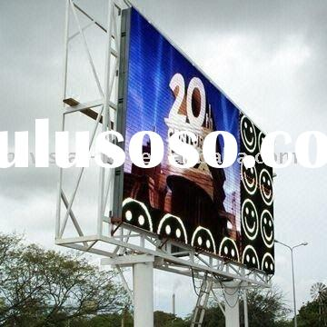 P20 outdoor advertising led display graphics
