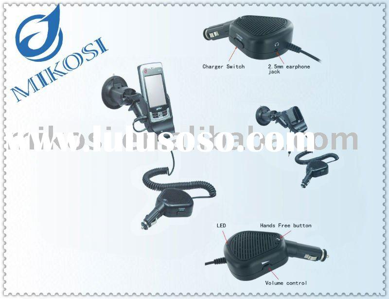PDA Charger Cell Phone Car mount Cradle with handsfree